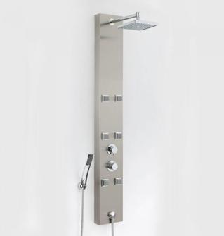 Colonne de douche hydromassante