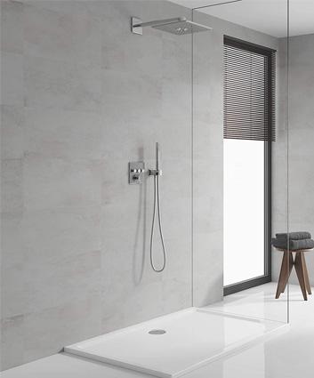 colonne de douche thermostatique-Smartcontrol
