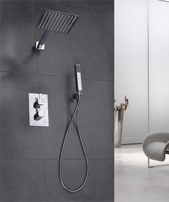 Système de douche thermostatique
